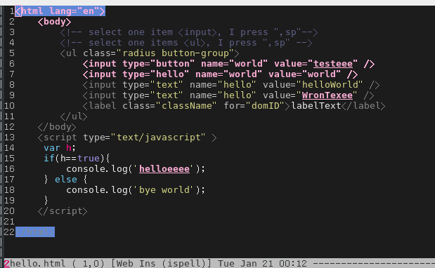 Effective spell check in Emacs